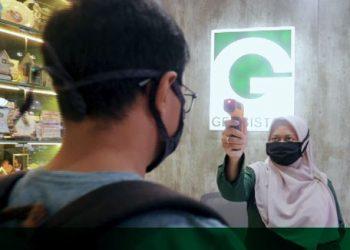 Protokol Kesehatan di kantor PT Geosistem di Wisma SIER Surabaya