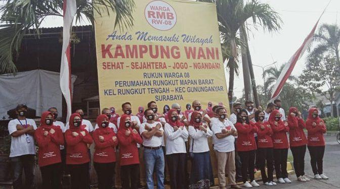 """RW-08 RMB Deklarasi """"The Real"""" Kampung Wani"""